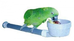 Polly's Mess Less Perch Cup Small Long