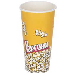 Popcorn Container 24oz 4 Pack