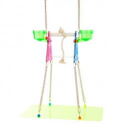 Polly's Pet Products Suspended Stand Small