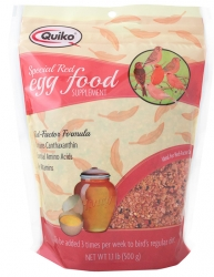 Quiko Special Red Egg Food 1.1# Bag