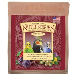 Lafeber's Senior Nutriberries Cockatiel 3 lb
