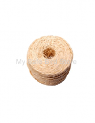 "Sisal Rope 1/16"" Non Oiled by the Foot"