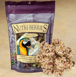 Lafeber's Senior Nutriberries Macaw/Cockatoo 10 oz