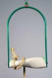 Polly's Twist N Arch Swing Large