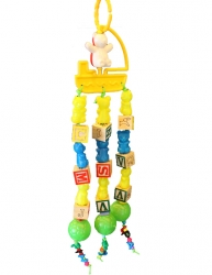 Teddy Tugboat by Made in the USA Bird Toys