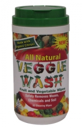Veggie Wash - 62 ct. Fruit & Vegetable Wipes