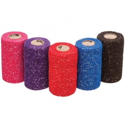 "Glitter Vet Wrap 4"" x 5 Yards"