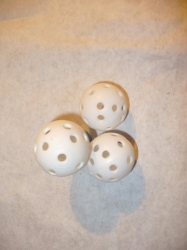 "Wiffle Ball Small 2"" in diameter"
