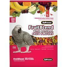 Zupreem Fruit Blend Medium/Large 17.5# Bag