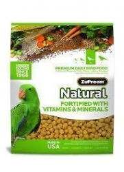 Zupreem Natural Parrot Conure  20# Bag