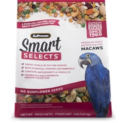 Zupreem Smart Selects Macaw 4# Bag