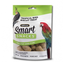 Zupreem Smart Snacks Tropical Biscuit Treat 2.5 oz