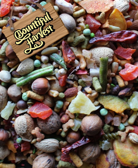 D bhbl bountiful harvest blend for large birds per lb for Bountiful storage