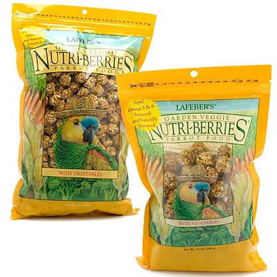 C-LAF82352 Lafeber's Nutriberries Garden Veggies Parrot 3 lb - TREATS