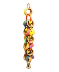 Mini Bagel Bonanza by Made in the USA Bird Toys