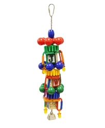 Busy Beaks Delight by Made in the USA Bird Toys