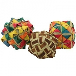 Planet Pleasures Woven Square Foot Toy Bundle (3)