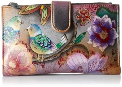 Anuschka Cell Phone Case/Wallet Blissful Birds