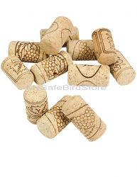 Natural Cork 1.75 Inches 10 Pack
