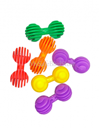 Interlocking 2 Ball Bird Toy Part