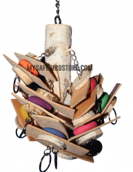Medium Birch w/Colored Slices by The Leather Elves