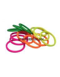 Neon Plastic Rings 4 Pack