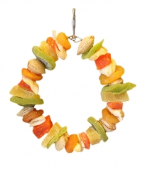 Nutmeats and Fruit by Made in the USA Bird Toys