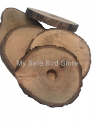 Pear Wood 3 Inch Slice with 1/4