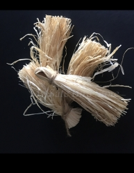Raffia Tassel Bird Toy Part 6 Pack