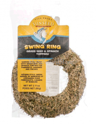 Sunseed Vita Prima Swing Ring Grass Seed/Spinach