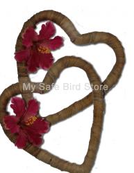 BananaHeart Leaf Wreath 5 Pack