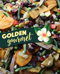 Golden Gourmet Veggie Chip Medley 8# Bag