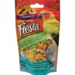 Kaytee Fiesta Healthy Toppings Papaya 2.5 oz