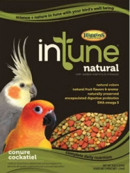 Higgins In Tune Cockatiel/Conure Pellets 18 Lb Bag