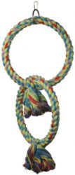 Polly's Pet Products Double Ring Swing Sm