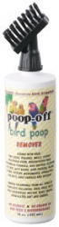 Poop Off 16 oz with brush