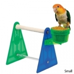 Polly's Pet Products Portable Stand Small