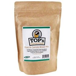 TOPS Peas & Carrots Bird Bread MIx 1.35# Bag